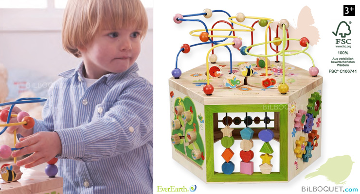 7-in-1 Garden Activity Cube EverEarth
