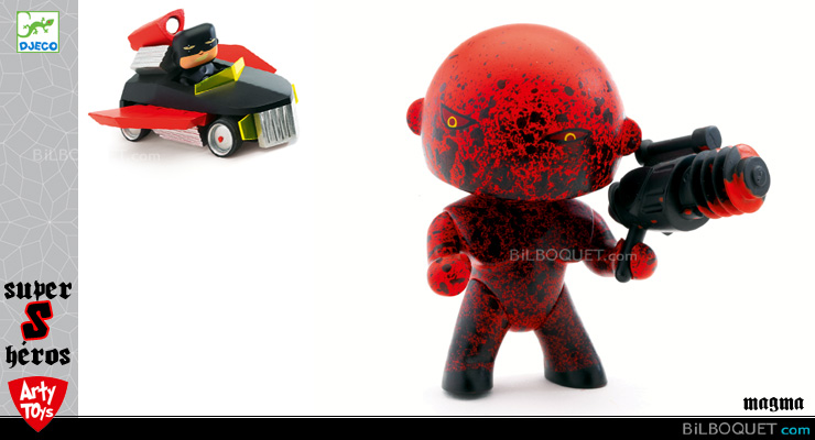 Magma - Arty Toys Super heroes Djeco