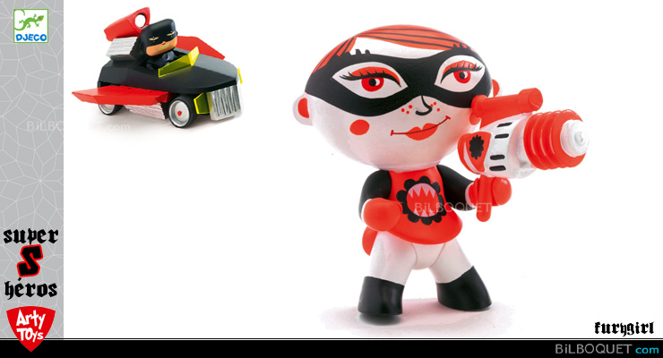 Furygirl - Arty Toys Super heroes Djeco