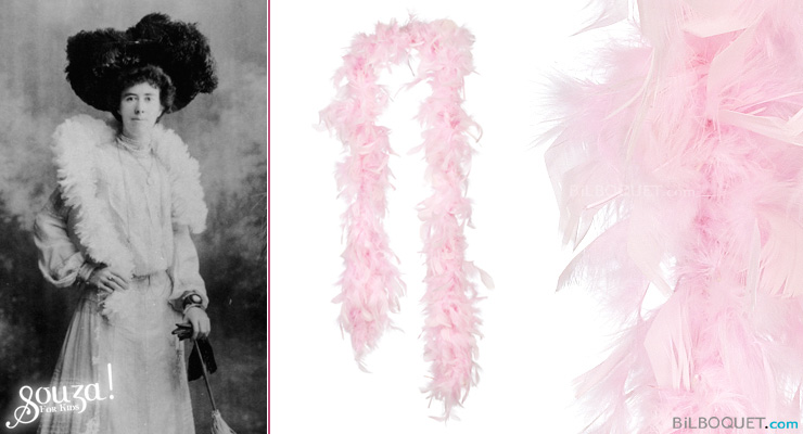 Pink Feather Boa Souza for kids