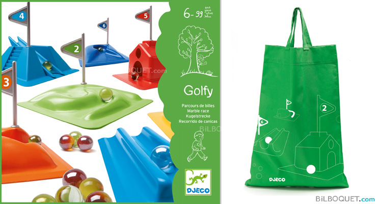 Golfy Marble race game Djeco