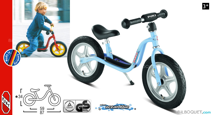 Kids learner bike LR1L - Blue Puky