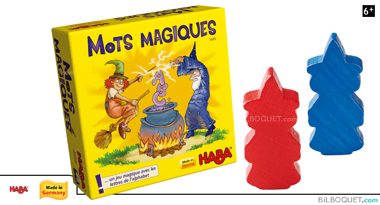 Magic Words Bring along supermini Letter Game Haba