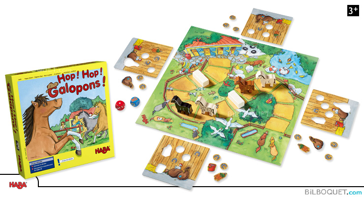 Clippety-Clop! Collecting Game Haba