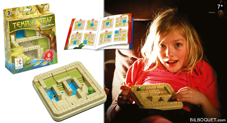 Temple Trap Multi-level Game of Logic Smart Games