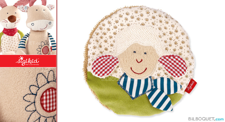 Coussin bouillote Mouton Organic Collection Sigikid