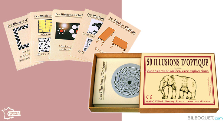 50 illusions d'optique Marc Vidal
