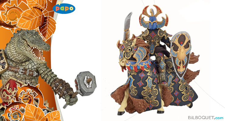 Beetle Warrior and horse Papo