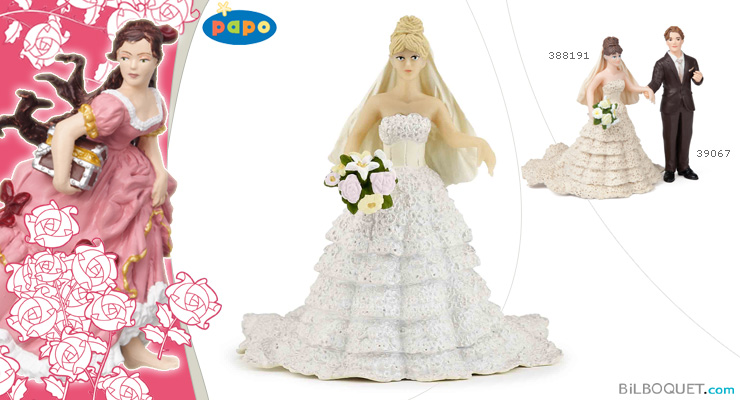 White bride lace Papo