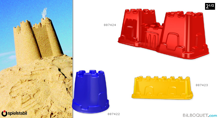 Sand mould to build a castle 887422 The tower Spielstabil