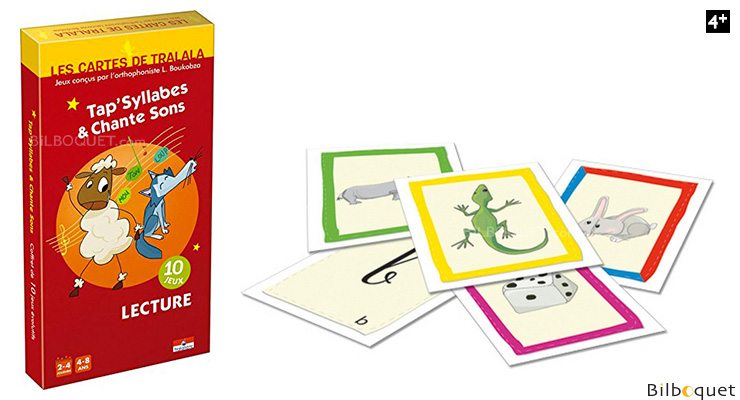 Tap'syllabes & chante sons Game of cards