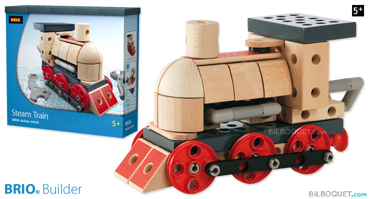 BRIO Builder Steam Train BRIO