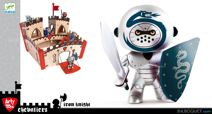 Iron Night - Arty Toys chevaliers Djeco