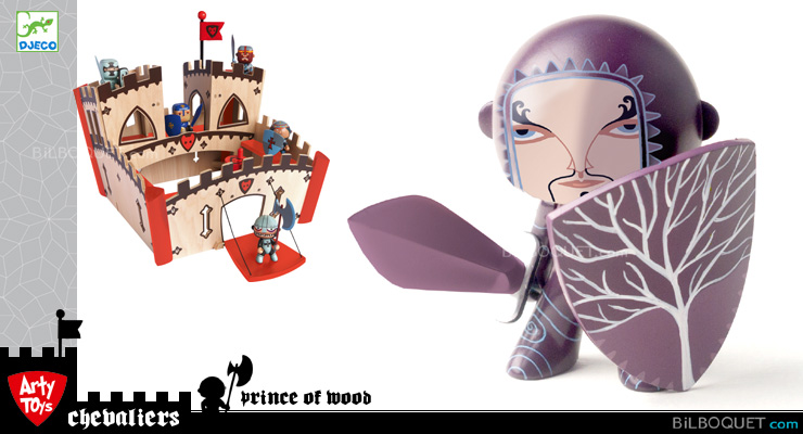 Prince of wood - Arty Toys chevaliers Djeco
