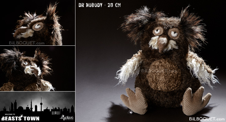 Owl Dr Nobody Design Plush Beasts Sigikid