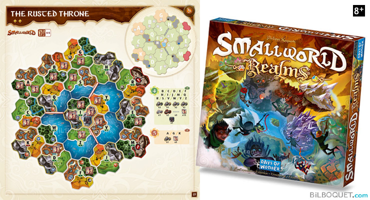 Small World Realms Extension pour le jeu Small World Days of Wonder