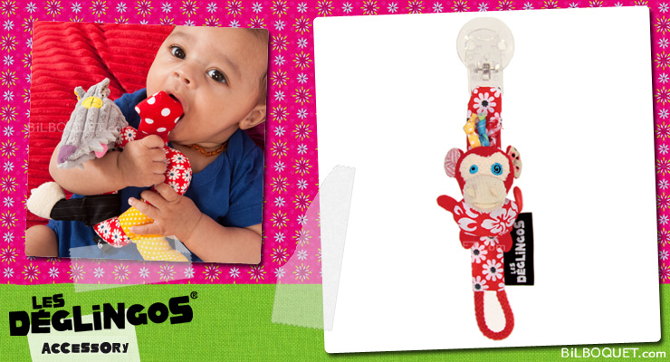 Bogos Pacifier Holder - Déglingos Nursery Déglingos