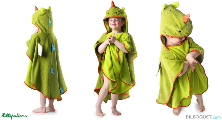 Walter Bath cape for kids 3-6 years Lilliputiens