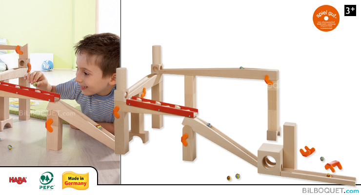 Looping track, big - Basic Pack Ball Track Set Haba