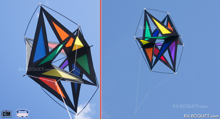 Astro Star Rainbow Cerf-volant cellulaire Colours in Motion