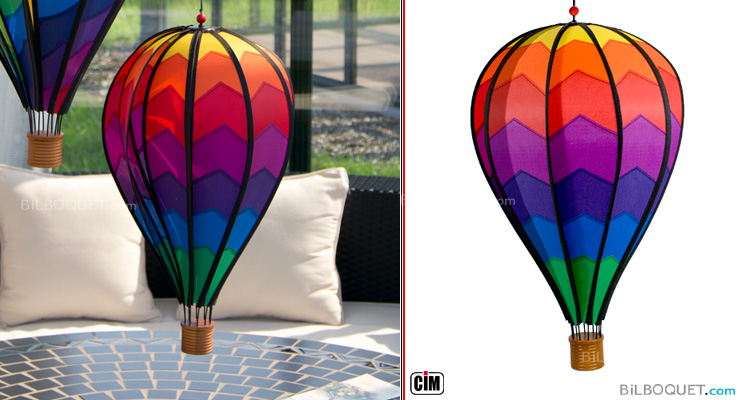 Hanging Decoration Satorn Balloon Mountain Colours in Motion
