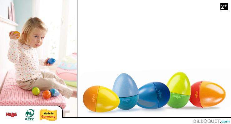 Wooden Musical Eggs Haba
