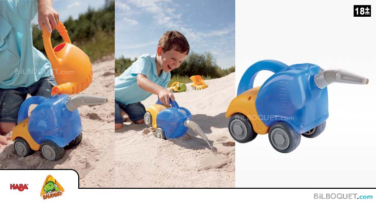 Tanker Truck Sand play Haba