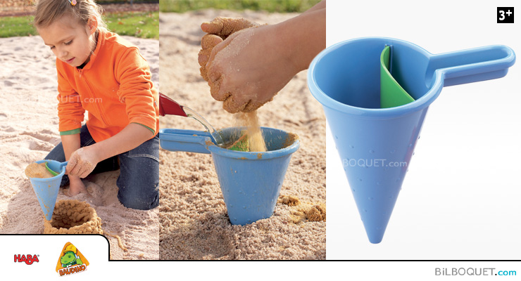 Spilling funnel for Sand play Haba