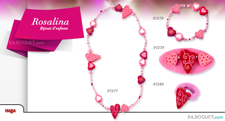Heart Rosalina Ring Accessories for girls Haba