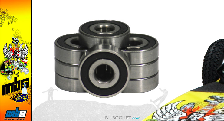 Roulement à billes pour mountainboard MBS 9,5x28 mm MBS Mountainboards
