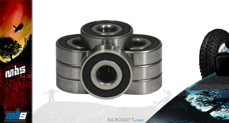 Roulement à billes pour mountainboard MBS 12x28 mm MBS Mountainboards