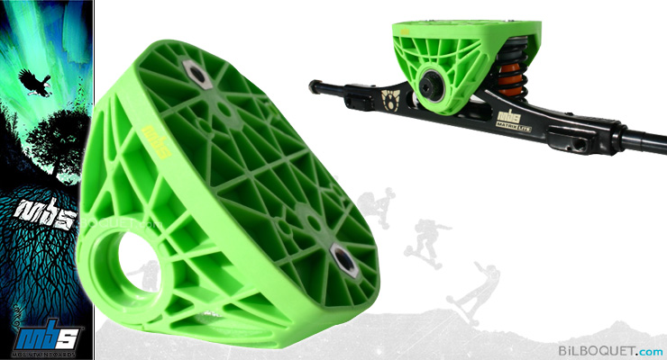 MBS Top Truck for Matrix and Matrix Light Trucks green MBS Mountainboards