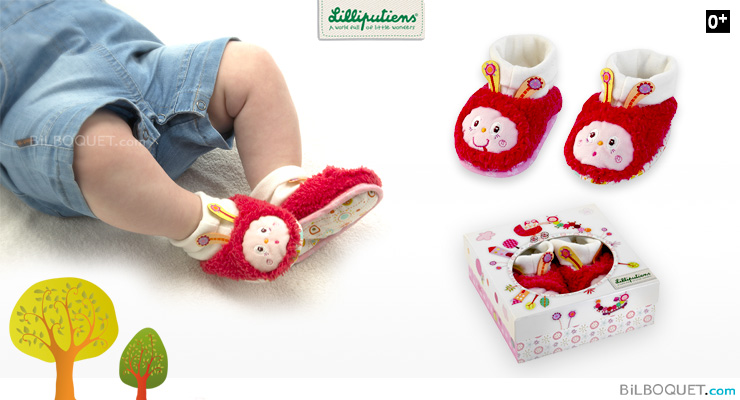 Juliette Baby Slippers Lilliputiens