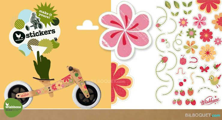 FLOWERS Stickers for the Wishbone Bike Wishbone Design