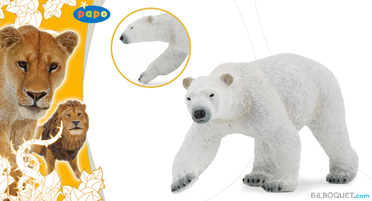 Ours polaire Figurine Jouet Papo