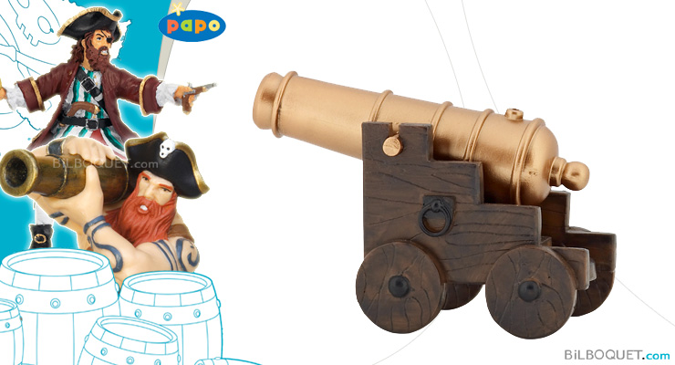 Pirate Cannon Papo Figurine Papo