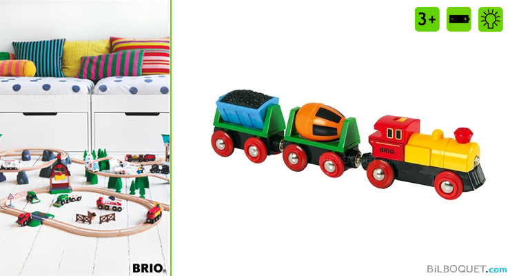 Battery Operated Action Train BRIO