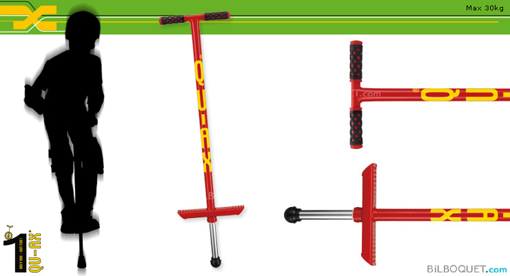 Pogo Stick for children up to 30kg RED QU-AX