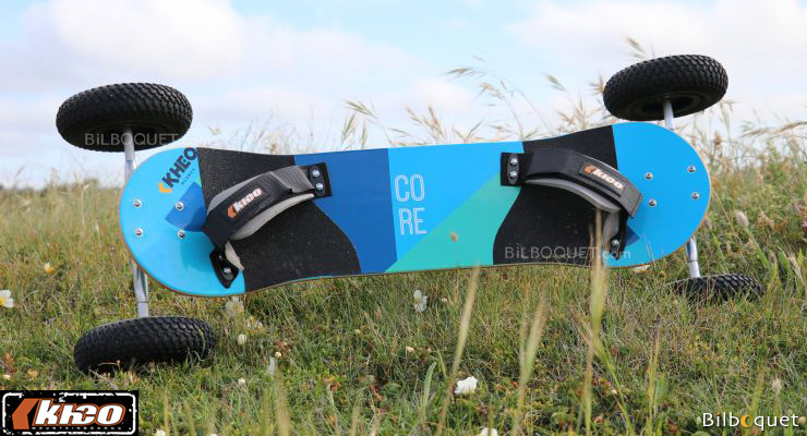 Mountainboard Kheo Core avec roues 9 pouces Kheo Mountainboards