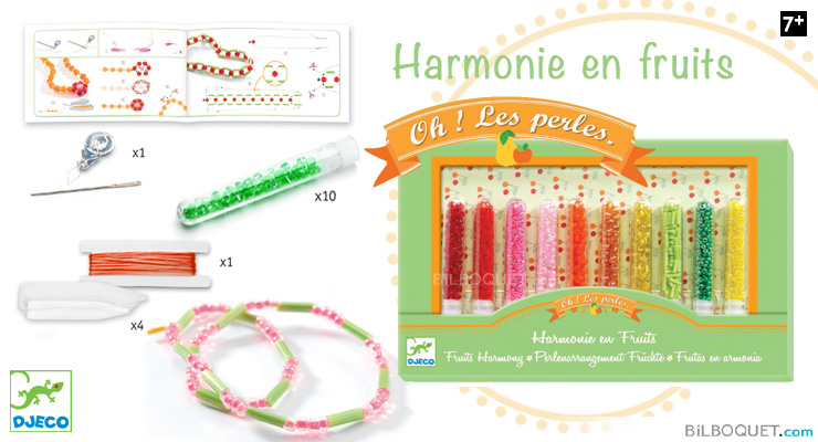 Fruits Harmony Ooh, beads Djeco