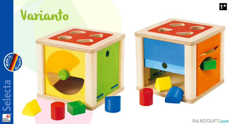 Varianto Shape sorting discovery Cube Selecta