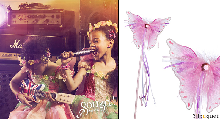 Magic Wand Butterfly Meliora - Costume Accessories Souza for kids