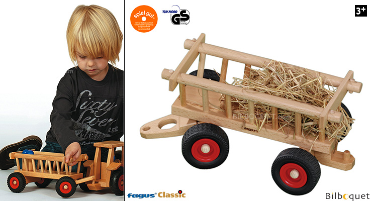 Hay Wagon Wooden Toy Fagus Wooden Toys