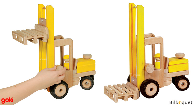 Forklift Truck - Wooden Vehicle Goki