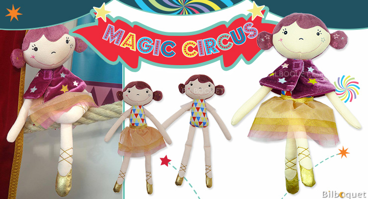 Betty the tightrope Doll - Magic Circus Ebulobo