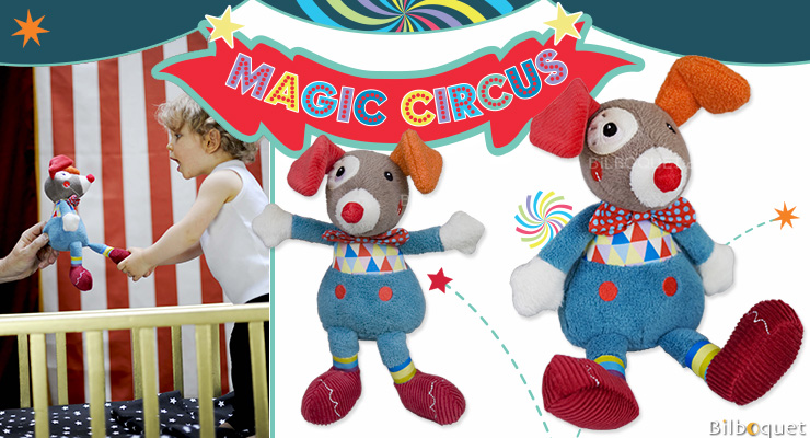 Gustave Clown Doll - Magic Circus Ebulobo