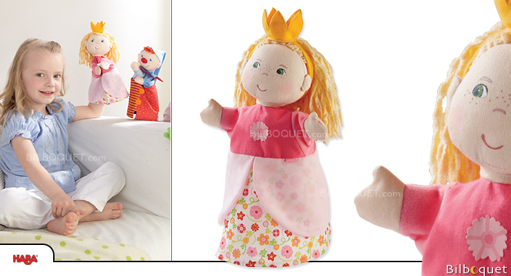 Glove puppet Princess Haba