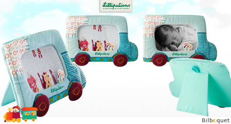 Jef Photo Frame - to attach or stand up Lilliputiens