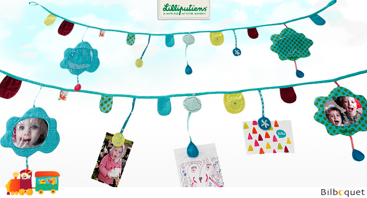 Jef Magnetic garland - Kids Room Deco Lilliputiens