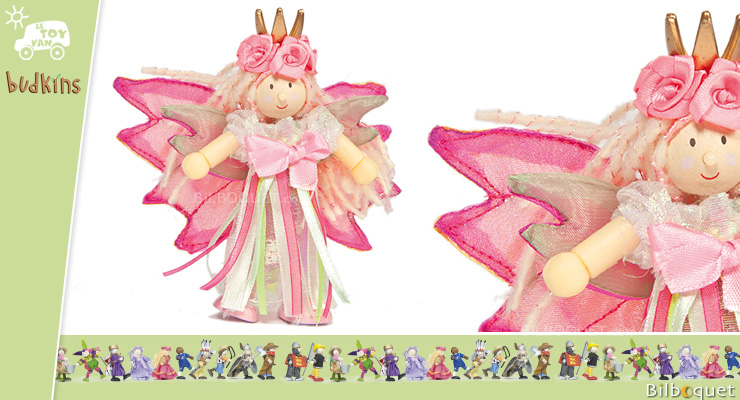 Princess Fairybelle - Budkins Wooden Characters Le Toy Van